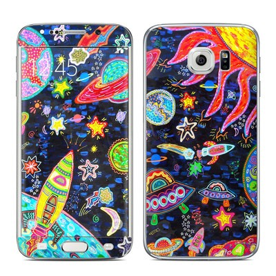 Samsung Galaxy S6 Edge Skin - Out to Space