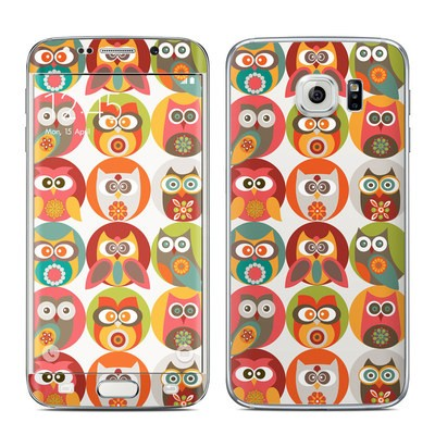 Samsung Galaxy S6 Edge Skin - Owls Family