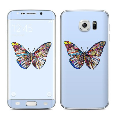 Samsung Galaxy S6 Edge Skin - Pieced Butterfly