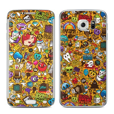 Samsung Galaxy S6 Edge Skin - Psychedelic