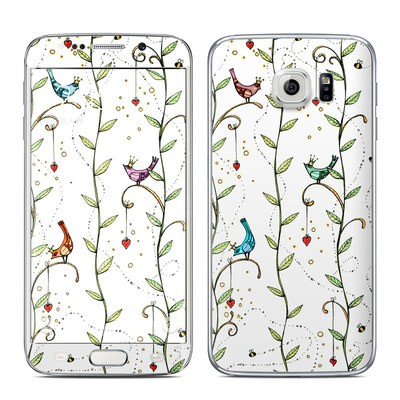 Samsung Galaxy S6 Edge Skin - Royal Birds