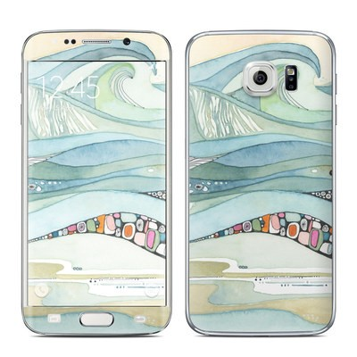 Samsung Galaxy S6 Edge Skin - Sea of Love