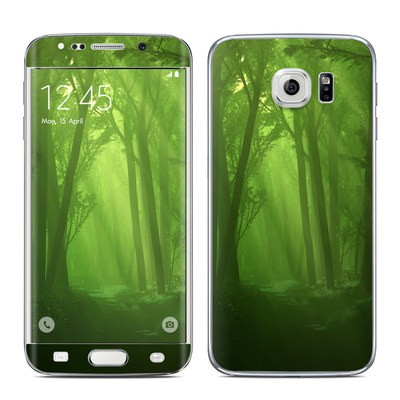 Samsung Galaxy S6 Edge Skin - Spring Wood