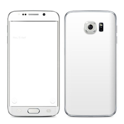Samsung Galaxy S6 Edge Skin - Solid State White