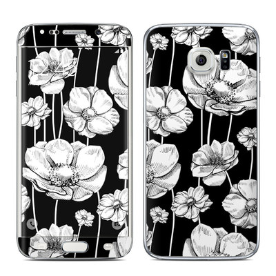 Samsung Galaxy S6 Edge Skin - Striped Blooms