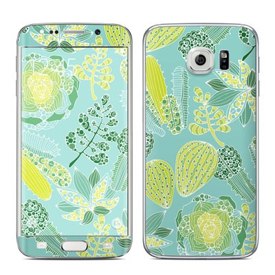 Samsung Galaxy S6 Edge Skin - Succulents