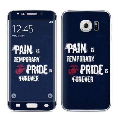 Samsung Galaxy S6 Edge Skin - Pain is Temporary