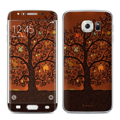 Samsung Galaxy S6 Edge Skin - Tree Of Books