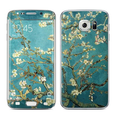 Samsung Galaxy S6 Edge Skin - Blossoming Almond Tree