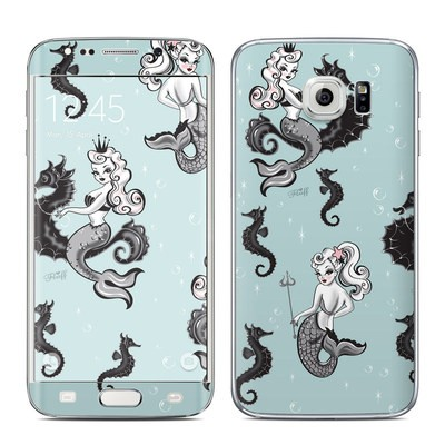 Samsung Galaxy S6 Edge Skin - Vintage Mermaid