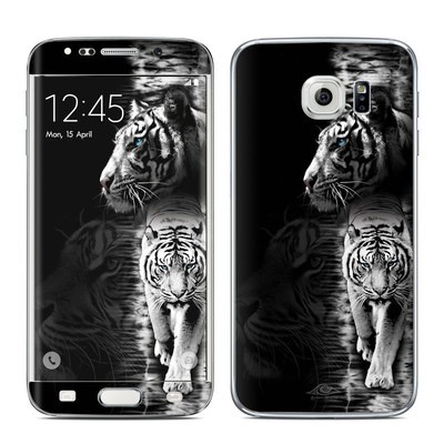 Samsung Galaxy S6 Edge Skin - White Tiger