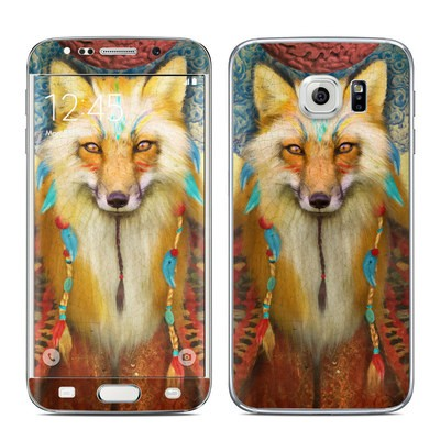 Samsung Galaxy S6 Edge Skin - Wise Fox