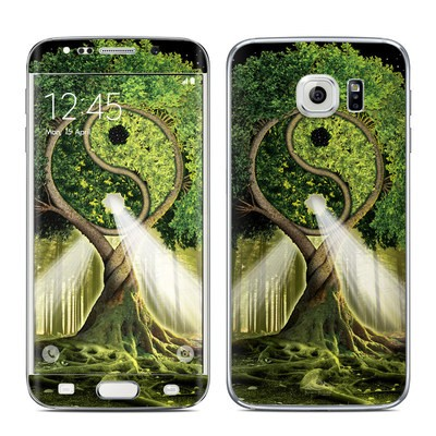 Samsung Galaxy S6 Edge Skin - Yin Yang Tree