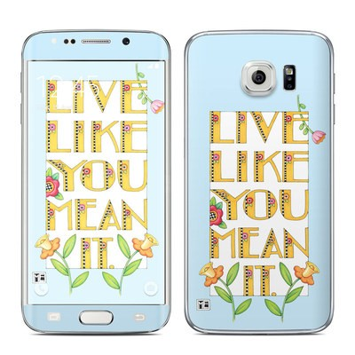 Samsung Galaxy S6 Edge Skin - Mean It