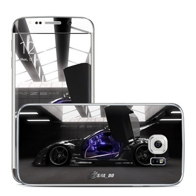 Samsung Galaxy S6 Edge Skin - Z33 Dark