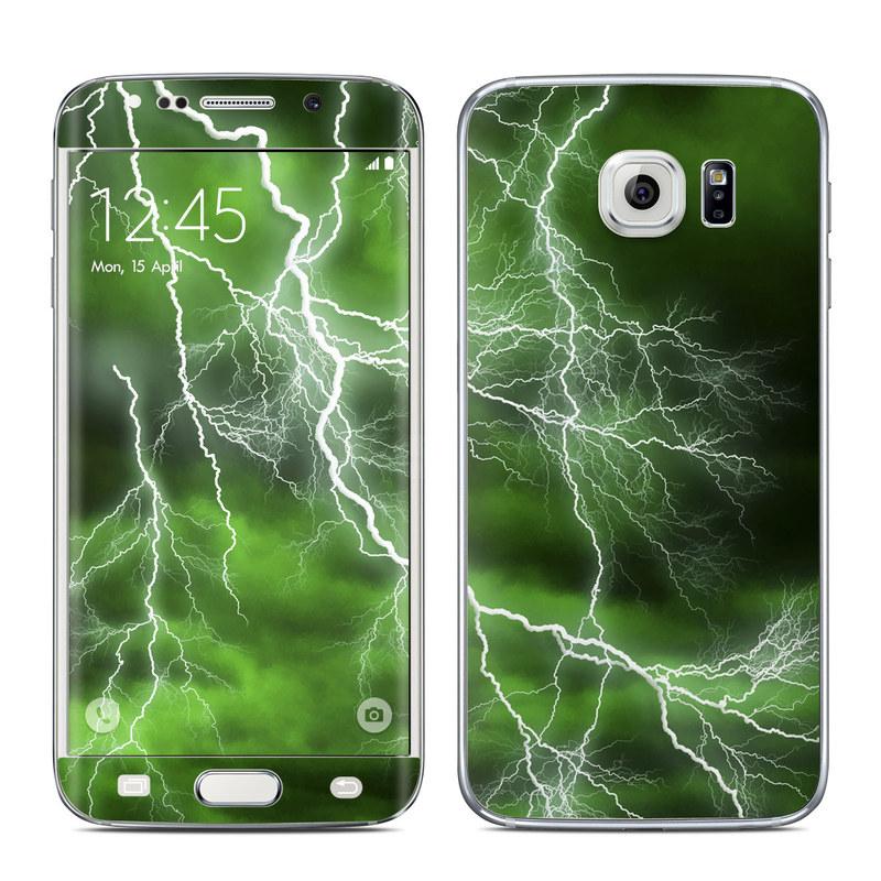 samsung s6 edge case green