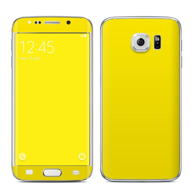 samsung s6 yellow case