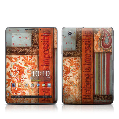 Samsung Galaxy Tab 7.7 Skin - Be Inspired