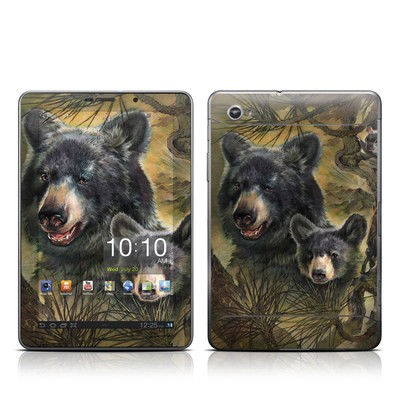 Samsung Galaxy Tab 7.7 Skin - Black Bears