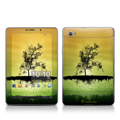 Samsung Galaxy Tab 7.7 Skin - Flying Tree Amber
