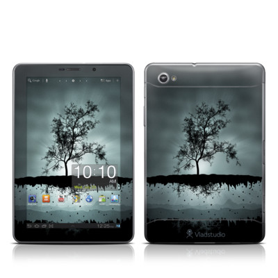 Samsung Galaxy Tab 7.7 Skin - Flying Tree Black