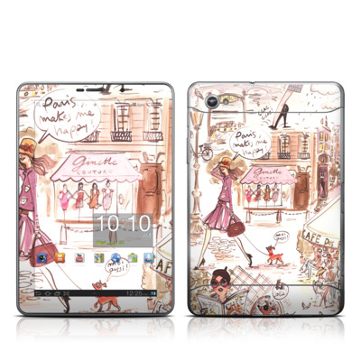Samsung Galaxy Tab 7.7 Skin - Paris Makes Me Happy
