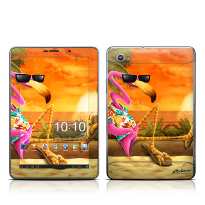 Samsung Galaxy Tab 7.7 Skin - Sunset Flamingo