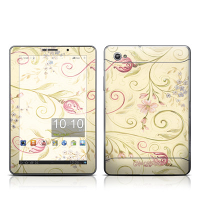 Samsung Galaxy Tab 7.7 Skin - Tulip Scroll