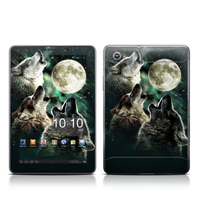 Samsung Galaxy Tab 7.7 Skin - Three Wolf Moon