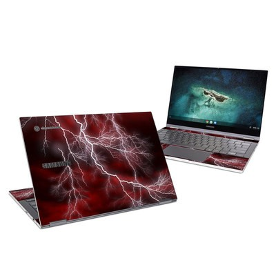 Samsung Galaxy Chromebook Skin - Apocalypse Red