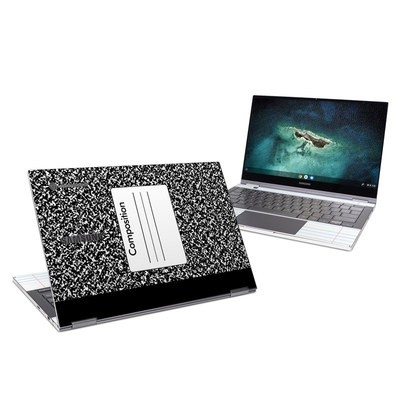 Samsung Galaxy Chromebook Skin - Composition Notebook