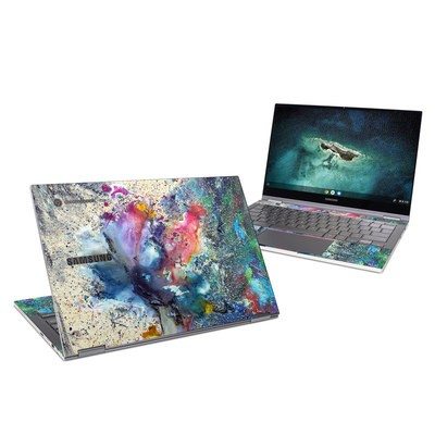 Samsung Galaxy Chromebook Skin - Cosmic Flower