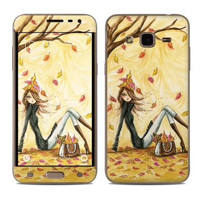 Samsung Galaxy J3 Skin - Autumn Leaves