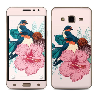 Samsung Galaxy J3 Skin - Barn Swallows