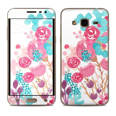Samsung Galaxy J3 Skin - Blush Blossoms