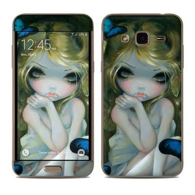 Samsung Galaxy J3 Skin - Butterfly Lily