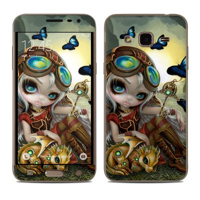 Samsung Galaxy J3 Skin - Clockwork Dragonling