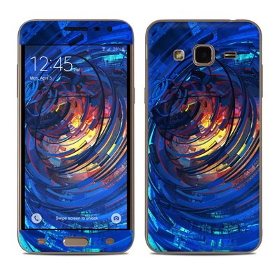 Samsung Galaxy J3 Skin - Clockwork
