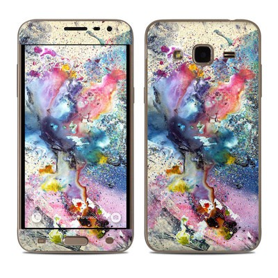 Samsung Galaxy J3 Skin - Cosmic Flower