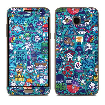 Samsung Galaxy J3 Skin - Cosmic Ray