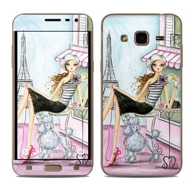 Samsung Galaxy J3 Skin - Cafe Paris