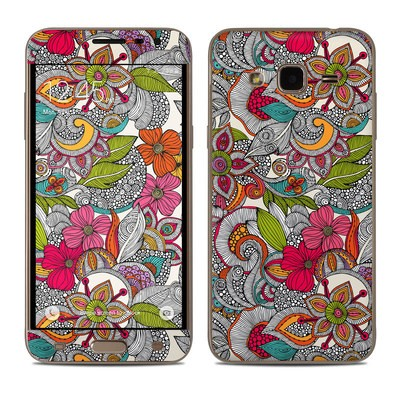 Samsung Galaxy J3 Skin - Doodles Color