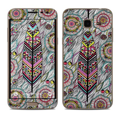 Samsung Galaxy J3 Skin - Dream Feather