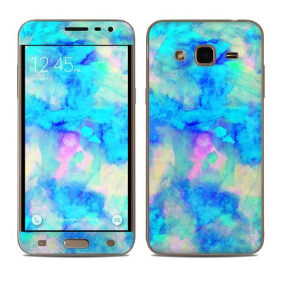 Samsung Galaxy J3 Skin - Electrify Ice Blue