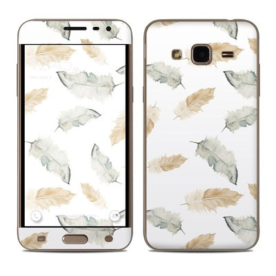 Samsung Galaxy J3 Skin - Feathers