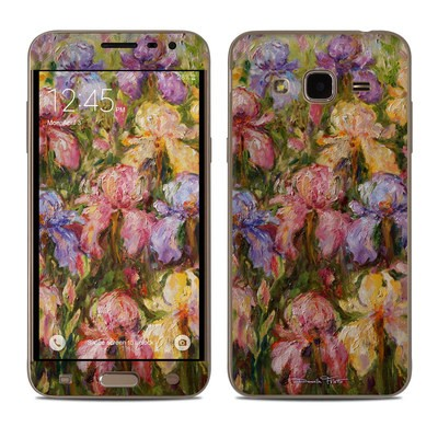 Samsung Galaxy J3 Skin - Field Of Irises