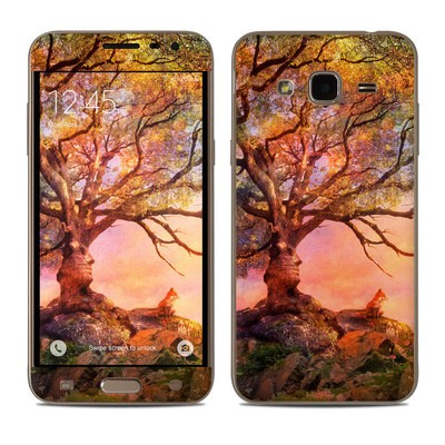 Samsung Galaxy J3 Skin - Fox Sunset