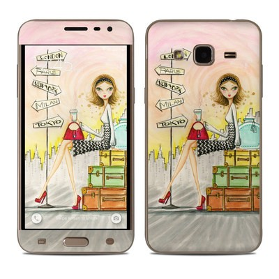 Samsung Galaxy J3 Skin - The Jet Setter