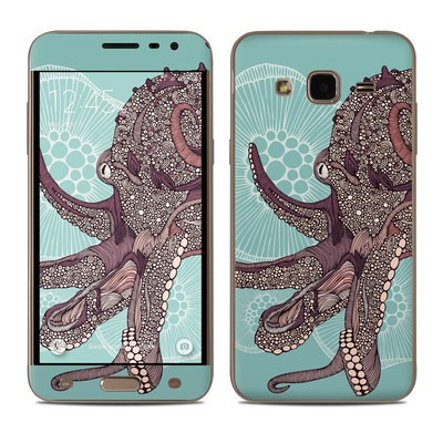 Samsung Galaxy J3 Skin - Octopus Bloom