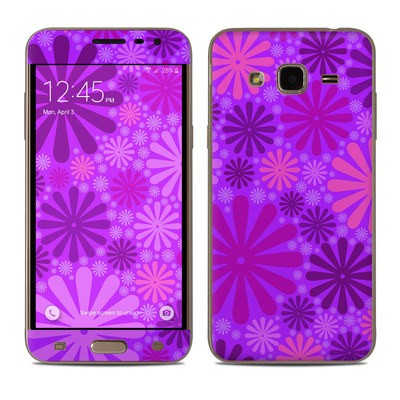 Samsung Galaxy J3 Skin - Purple Punch